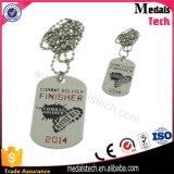 Drucken-Abdeckung-kundenspezifisches Aluminiumfirmenzeichen-preiswerte Hundeplakette für Männer