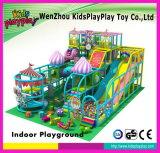 El juguete suave del juego de Wenzhou embroma el equipo de interior del patio