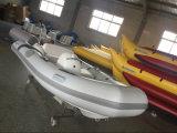 Liya 12.5FT Pequeño barco inflable de la costilla del PVC de la venta caliente (LY380)