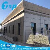 Panneau simple en aluminium pour le système de façade de mur intérieur et extérieur