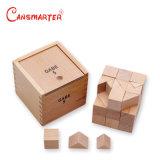 Gabe5 équilibre Cube symétrie combinant cognitives/jeu de blocs de correspondance de l'apprentissage de l'éducation Froebel bébé Jouets Jouets en Bois