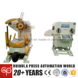 in Close Machine Ues Automatic Feeder with Straightener and Uncoiler