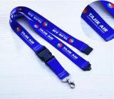 Personalizadas de poliéster Cordones para regalo de la promoción (LY-001)