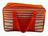 しまのある昇進の屋外の絶縁されたピクニック袋、より涼しい昼食袋、お母さんのクーラー袋