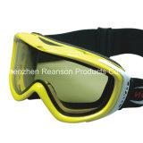 Reanson Qualitäts-windundurchlässige doppelte Objektiv-Schnee-Mobile-Schutzbrillen