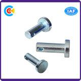 Acero de carbono de DIN/ANSI/BS/JIS/eje inoxidable de 4.8/8.8/10.9 Pin para el ferrocarril/la maquinaria/la industria /Fasteners del puente