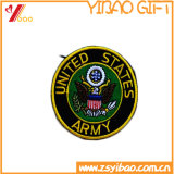 頭骨の刺繍のパッチまたはバッジの/PatchesのカスタムHightの品質のラベルおよび衣服(YB-HR-394)