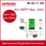 1000年- 5000va PWMの太陽料金のコントローラが付いているハイブリッド格子DC/AC太陽エネルギーインバーター