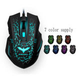 3200dpi LED USB Wired Optical Gaming Mouse Souris PC Souris d'ordinateur