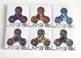 De hete Hand van de Verkoop friemelt Spinner met Kleurrijk Patroon