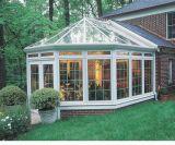 Подгонянный Sunroom сада с покрытием порошка (pH-8870)