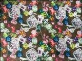 Tissu de polyester d'impression de bijou d'Oxford 900d