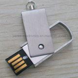 Beweglicher Metall-USBusb-Speicher-Stock 2.0/3.0 mit kundenspezifischem Firmenzeichen (762)