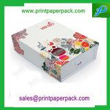 Cadre de empaquetage de carton estampé par coutume de bijou de cadeau de papier de bijou pour le cadre de collier d'emballage