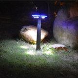 Алюминиевый высокий яркий солнечный свет IP65 сада с датчиком