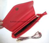 PU Leather Crossbody Designer方法女性折り返しの通り袋