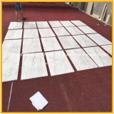 Mattonelle di pavimento di pietra di marmo bianche Polished poco costose della Cina Guanxi/Bianco per la pavimentazione/parete