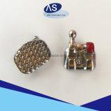 MIM flache Ineinander greifen-Grundmetall-Halter mit 345hooks orthodontisch