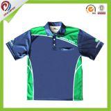 Les hommes secs faits sur commande d'ajustement ont sublimé des chemises de golf de polo