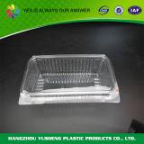 처분할 수 있는 투명한 플라스틱 케이크 상자