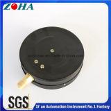Solução grande do ODM do OEM do manómetro 250kpa do conetor de bronze de aço do caso