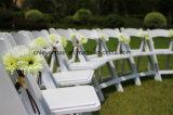 結婚式のための樹脂の折りたたみ椅子か党またはすべてのイベント