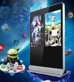 55inch - Doppio giocatore di pubblicità di schermi, contrassegno di Digitahi del visualizzatore digitale Del comitato dell'affissione a cristalli liquidi