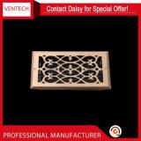 Registro fissato al muro del pavimento dell'aria del rifornimento di Gi dei sistemi di HVAC