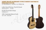 Guitare classique électrique de Cutway Smallman de marque d'Aiersi (SC098SCE)