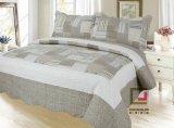 Printed 100% Microfiber Fabric Quilt / Bedding Set