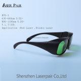 Taper aux glaces 635nm&808nm&980nm de sécurité des lasers Rtd-3 la lunetterie rouge de laser/laser de diodes de l'usine Pirce