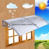Toldos usados ventana clara al aire libre de la puerta para la protección de la nieve de la lluvia de la cubierta del patio (YY800-B)