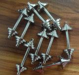 Подгонянное изготовление все виды алюминия/нержавеющей стали/Plstic/латуни/сплава/резиновый частей машины CNC