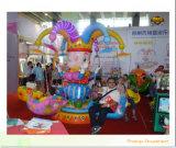 La diversión Dirigir-Vendedora de la fábrica monta sillas dobles del vuelo de los juegos de los niños