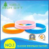 Bracelets faits sur commande en caoutchouc de silicones d'Anti-Moustique sain avec la forme drôle