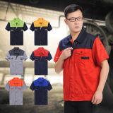 OEM Vêtements de travail d'été, coverall costume de coton de couleurs multiples