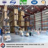 Almacén diseñado prefabricado/taller de la estructura de acero/vertido