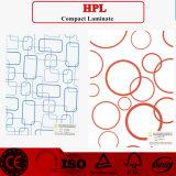 HPL/colorida hoja laminado de alta presión