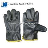 Водитель Glove-4010 мебели темного цвета польностью кожаный
