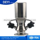 En acier inoxydable de type de soupape à diaphragme échantillonnés (DY-V103)