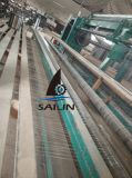 Sailin PVC庭および農場のための上塗を施してある六角形の金網の網
