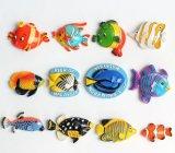 Ímãs de refrigerador chineses em forma de peixe (006)