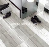 陶磁器の艶をかけられた磁器によってガラス化される完全なボディー・セメントの灰色の無作法なタイル(BY69014) 24 '壁およびフロアーリングのためのx24