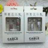 자석 USB 전화 케이블 자석 8pin 번개 데이터 케이블