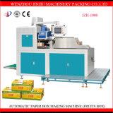 Automatischer Papierfrucht-Kasten, der Maschine herstellt