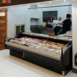 Витрина индикации свежего мяса супермаркета верхней части открытая вставляемая