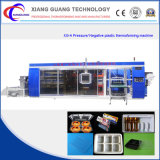 3 in 1 Station-positiver negativer Druck PlastikThermoforming Maschine