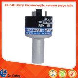 Tubo del calibro di vuoto della termocoppia del metallo della Cina Zhvac Zj-54D per la misura bassa di vuoto della macchina della metallizzazione sotto vuoto