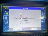Máquina para hacer punto del calcetín con la pantalla táctil del color 6f