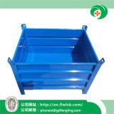 Envase de acero plegable modificado para requisitos particulares del volumen de ventas para el almacén de Forkfit